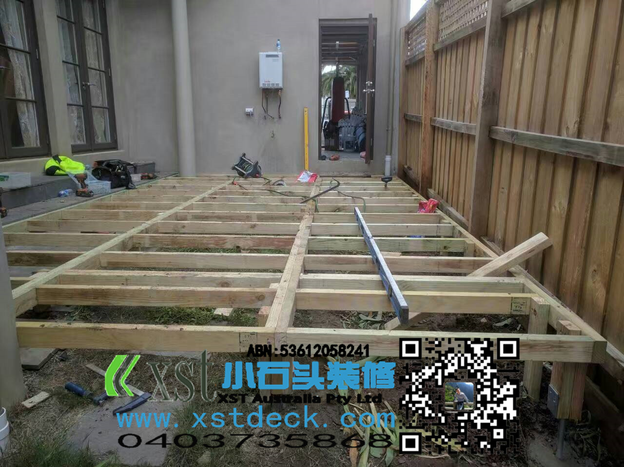 Melbourne decking outdoor floor decking slope of the for Circular garden decking